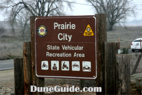 Prairie City State Vehicular Recreation Area