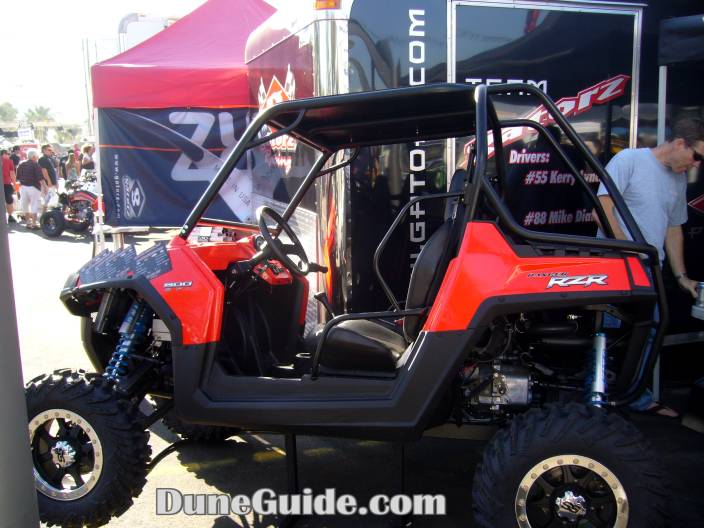 Polaris RZR with Long Travel Kit