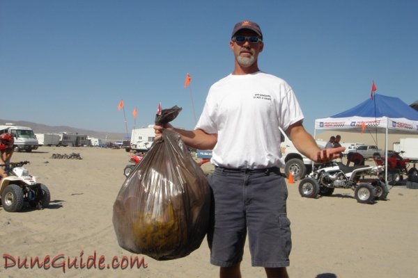 Sand Mountain Cleanup - DuneGuide.com